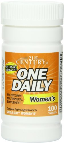 21st Century One Daily Women's Tablets, 100 - Century Vitamins Tablet 21st
