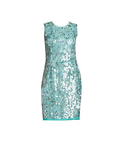 (Elie Tahari Emory Sequin Dress 0 )