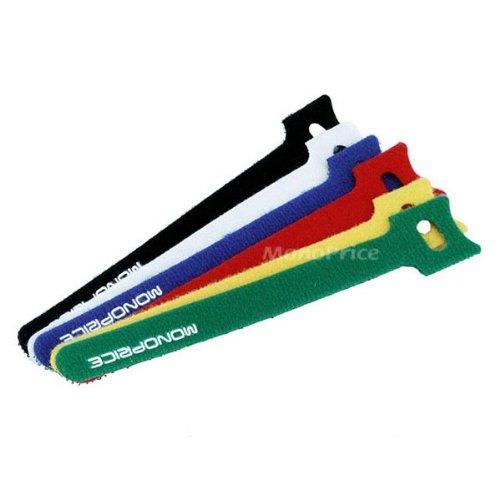 Hook & Loop Fastening Cable Ties 6inch, 60pcs/Pack - 6 Color