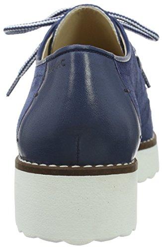 Marc Shoes Romy - Zapatos de cordones derby Mujer Azul - Blau (blue 770)
