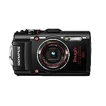 Olympus TG-4 16 MP Waterproof Digital Camera with 3-Inch LCD, Black