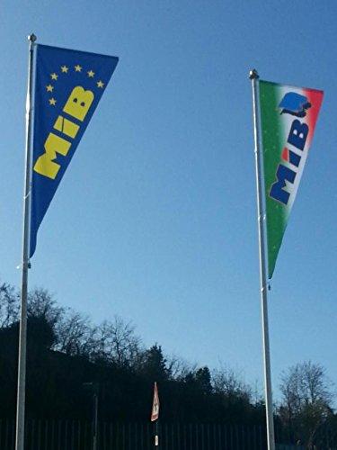 acquistare ora Savent, HALF FLAGS cm. cm. cm. 150x450 in tessuto light deluxe per pali con braccio rotante - 150x450  solo per te