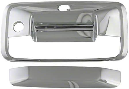 2014-2015 Chevy Silverado Chrome Tailgate Handle Cover with Camera Cutout