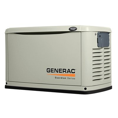 Generac 6721 Guardian Series, 16kW Air Cooled Standby Generator, Natural Gas/Liquid Propane Powered, Aluminum Enclosed (Discontinued by (Generac Guardian Series)