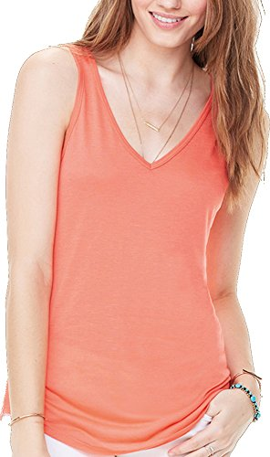 Bella Canvas - Camiseta sin mangas - para mujer Red Marble