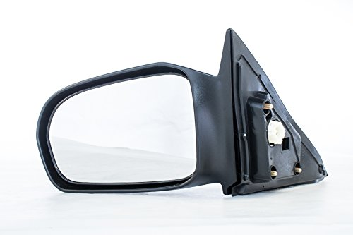 Driver Side Mirror for Honda Civic Coupe - Fits Coupe Only (2001 2002 2003 2004 2005) Non-Heated Power Adjusting Left Rear View Unpainted Door Mirror Coupe Power Side Mirrors