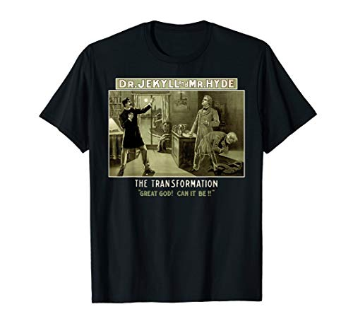 Classic Horror Story-Strange Case of Dr. Jekyll and Mr. Hyde T-Shirt -