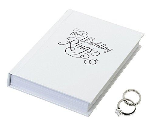 Wedding Day Ring Bearer Book - Lillian Rose 4.25