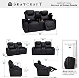 Seatcraft Vienna Home Theater Seating - Top Grain
