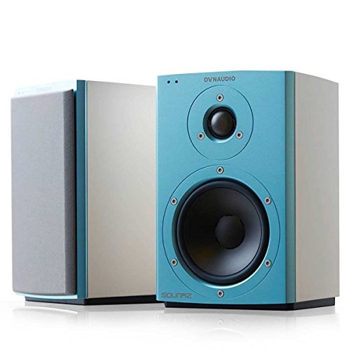 Dynaudio Xeo 2 Wireless Bookshelf Speakers, Limited Edition - Pair (Blue/White) by Dynaudio
