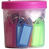 SNDIA Multicolor Keyring & Keychain(Pack Of 50)