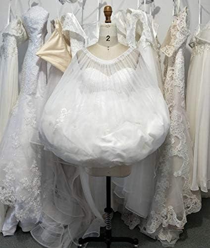 TO Gather Skirt Slip Toilet Petticoat for Wedding Bridal Dress Underskirt