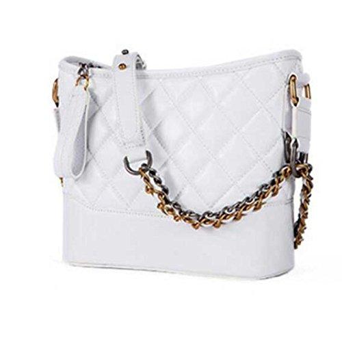 Tracolla Benna Doppio A White Sconosciuto Bag Chain Sacchetto Donne Delle Della Borsa TU6qp