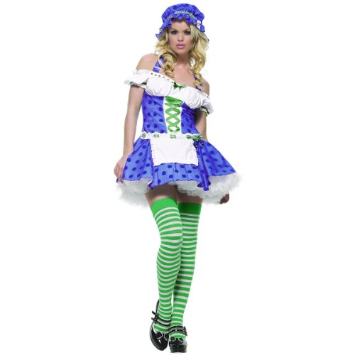 Blueberry Muffin Adult Costume - Blueberry Muffin Girl Adult Costume - Small