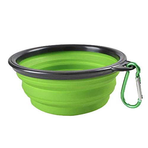afafqfe Collapsible Silicone Pets Bowl Food Water Feeding BPA Free Foldable Travel Cup for Dogs Cat Drop Shipping Outfit Portable Dish