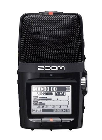 Zoom H2n Stereo/Surround-Sound Portable Recorder