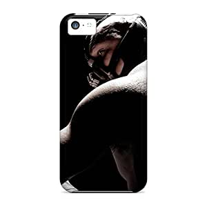 Iphone 5c FDp7052hHAJ Custom High-definition Tom Hardy As Bane In Dark Knight Rises Pictures Bumper Hard Phone Cover -KellyLast