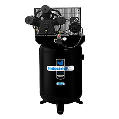 Industrial Air ILA5746080 60-Gallon Hi-Flo Single Stage Cast Iron Air Compressor