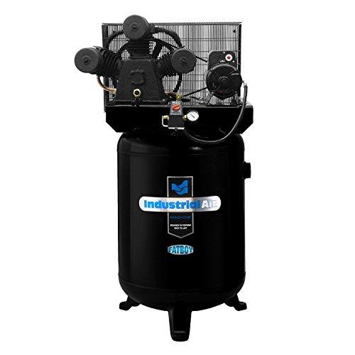 Industrial Air ILA5746080 60-Gallon Hi-Flo Single Stage Cast Iron Air Compressor