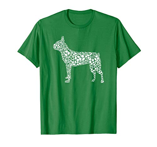 Lucky Shamrock Boston Terrier Mom St Patrick Day Woman Shirt