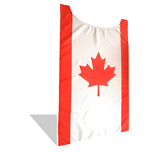 FreedomCapes Canadian Flag Cape Costume - Canada Maple Leaf Hockey Cape for NHL fans