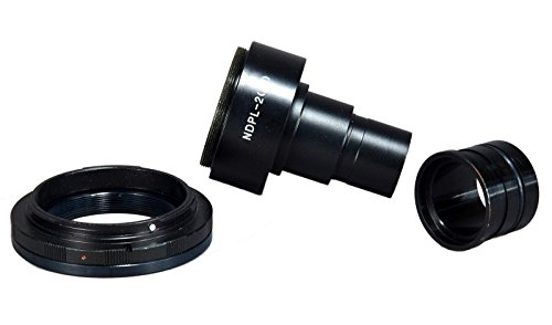 OMAX Microscope Adapter 4 Canon D-SLR w 2X Lens + 23.2-30.5mm Adapter by OMAX