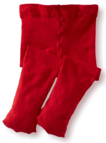 Jefferies Socks Baby Girls' Pima Tight, Red, 18 24 Months