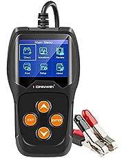 Wakauto Testador de carga de bateria de carro 12 V analisador de sistema de carregamento de bateria de carro