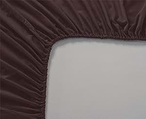 Arlinen 100 Cotton 1 Piece Fitted Bottom Sheet Fit