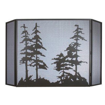 Tall Pines Folding Fireplace ()