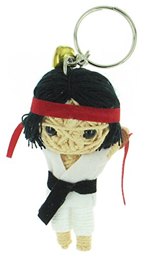 Ryu Street Fighter Video Game Voodoo String Doll Keyring Keychain (Evil Ryu Costumes)