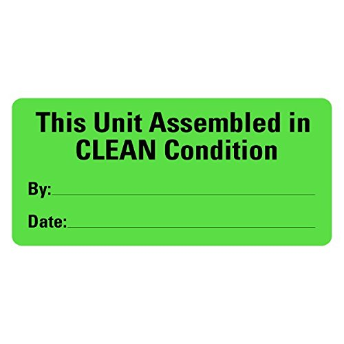 (This Unit Assembled In CLEAN Condition Medical Labels LV-MCSL36)