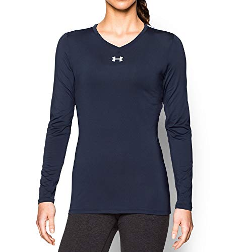(Under Armour UA Power Alley Jersey MD Midnight Navy)
