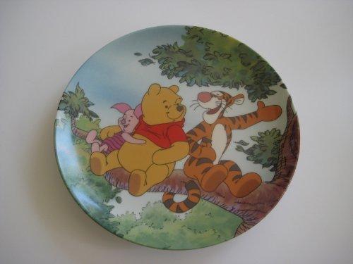 Disney Winnie Pooh Collectible Plate (Disney Winnie The Pooh Tree Top Trio Bradford Exchange Plate)