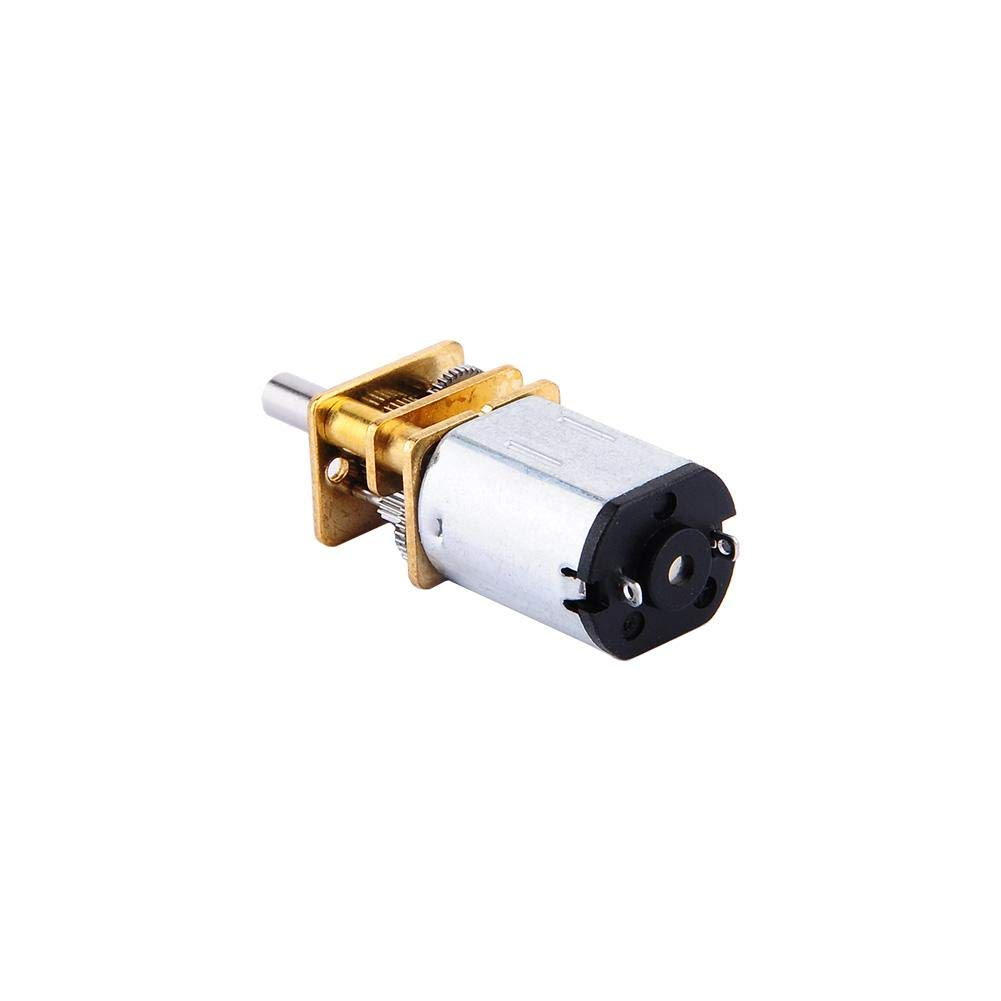 Robot Model DIY Engine Toys 6V 200RPM Yosoo Mini High Torque 6V 50// 100// 150// 200// 300RPM with Metal Gearbox Replacement N20 for RC Car