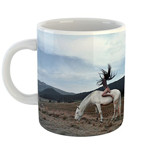 Westlake - Coffee Cup Mug - Cork Ecosystem - Modern Picture Photography Artwork Home Office Birthday Gift - 11oz (69m 110) (Waterford System)
