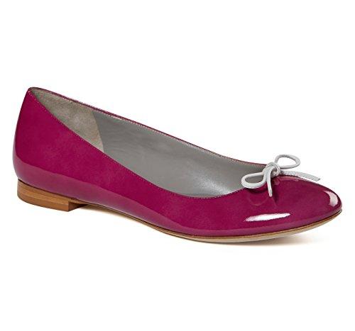 Verni En Violet Ballerines Cuir B4ballerinas wx4XAn5q5