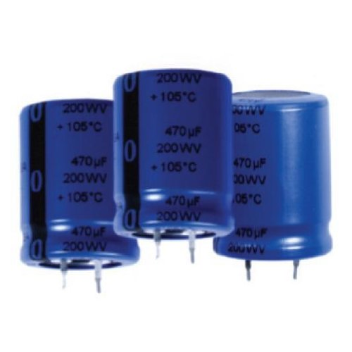 Snap In Capacitor (Aluminum Electrolytic Capacitors - Snap In 150uF 450V)