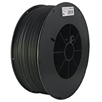 Proto-pasta HTP21730-CF High Temperature Carbon Fiber Spool , PLA 1.75 mm, 3 kg , Black by Protoplant INC