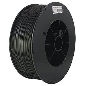 Proto-pasta HTP21730-CF High Temperature Carbon Fiber Spool , PLA 1.75 mm, 3 kg , Black by Protoplant INC