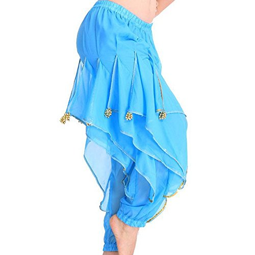 TFJH Belly Dance Harem Bollywood Arabic Tribal Costume Pants