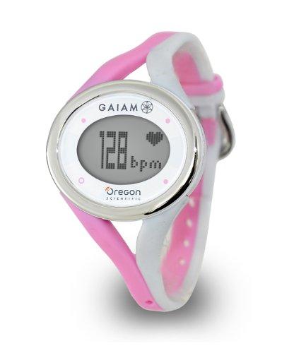 Oregon Scientific SE338/WBXPK Gaiam ECG Touch Watch, Pink