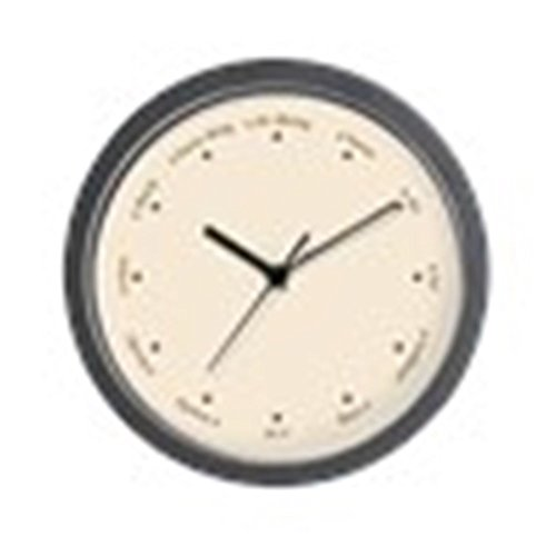 CafePress - Gaelic Irish Numbers and Stars Wall Clock - Unique Decorative 10