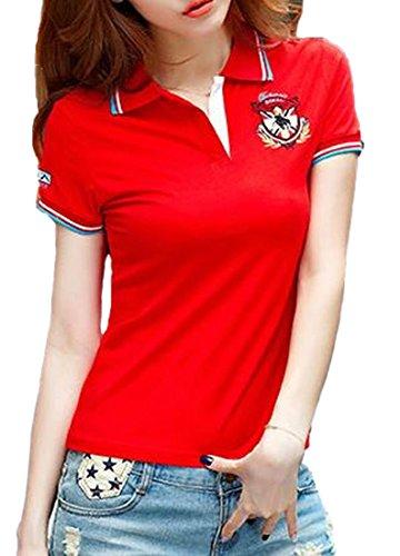 Heaven Days(ヘブンデイズ)ポロシャツ ゴルフシャツ Tシャツ 半袖 レディース 1805F0026