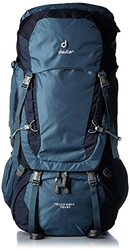 Deuter Aircontact 75 10L Trekking Backpack Arctic-Navy