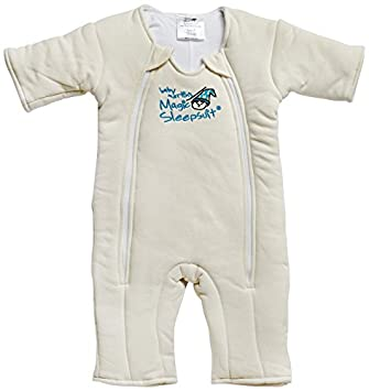 730341779 Amazon.com: Baby Merlin's Magic Sleepsuit Cotton - Cream - 3-6 ...