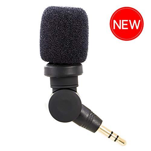 Cameras Microphone 3.5mm Vlog, Saramonic Plug & Play Mic Omnidirectional Mic for DSLR, Camcorders, CaMixer, SmartMixer, LavMic, SmartRig+, UWMIC9/UWMIC10/UWMIC15 Wireless Microphone Systems - Plug 3.5 Mm Microphone