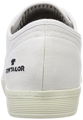 Donna 00002 Tailor Bianco Sneaker 485200330 white Tom tPfqwz1