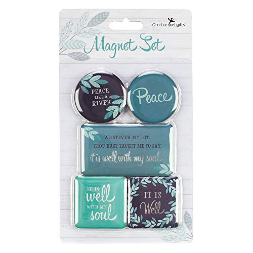 - It Is Well With My Soul 5-Piece Magnet Set