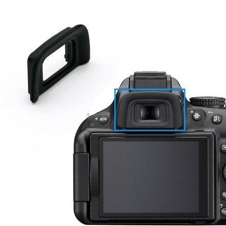 cformac - DK-20 Ocular Ocular del Visor para Nikon D5000, D3100 ...